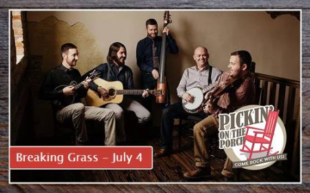 Bluegrass Island Trading Co., Pickin' on the Porch Featuring Breaking Grass