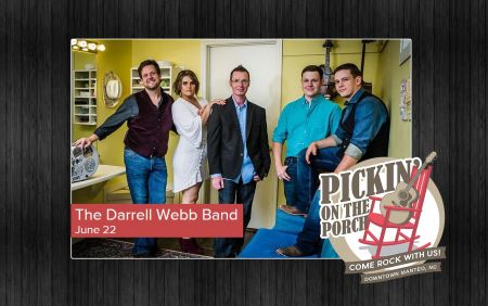 Bluegrass Island Trading Co., Pickin' On the Porch Featuring the Darrell Webb Band