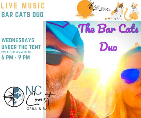 NC Coast Grill & Bar, The Bar Cats Duo