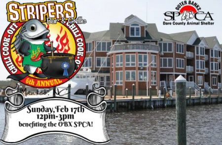 Outer Banks SPCA, Striper's 6th Annual Chili Cook-Off