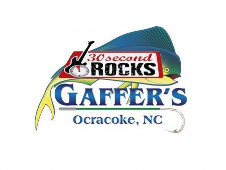 Gaffer's Restaurant on Ocracoke Island, Music Monday's - 30 Second Rocks
