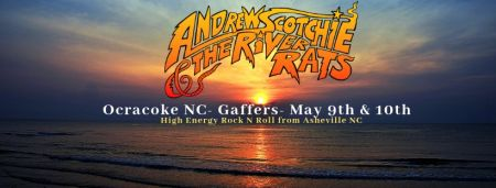 Gaffer's Restaurant on Ocracoke Island, Andrew Scotchie & the River Rats