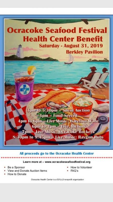 OBX Events, Ocracoke Seafood Festival