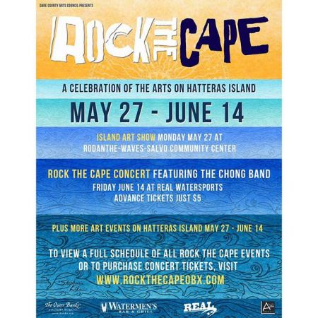 Dare County Arts Council, Rock the Cape Festival