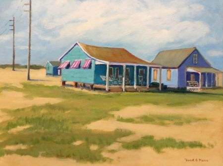 """Dare County Arts Council, Janet Pierce Exhibit Opening: """"Moments of Light and Color"""""""