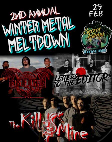 Secret Island Tavern Outer Banks, Winter Metal Meltdown