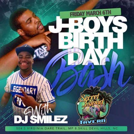 Secret Island Tavern Outer Banks, J-Boy's Birthday Bash with DJ Smilez