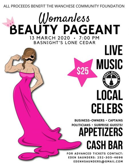 Basnight's Lone Cedar Outer Banks Seafood Restaurant, CANCELED: Womanless Beauty Pageant