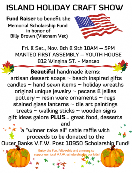 OBX Events, Island Holiday Craft Show