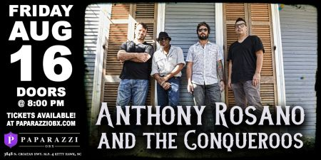 Paparazzi OBX Concert & Event Venue, Anthony Rosano & The Conqueroos