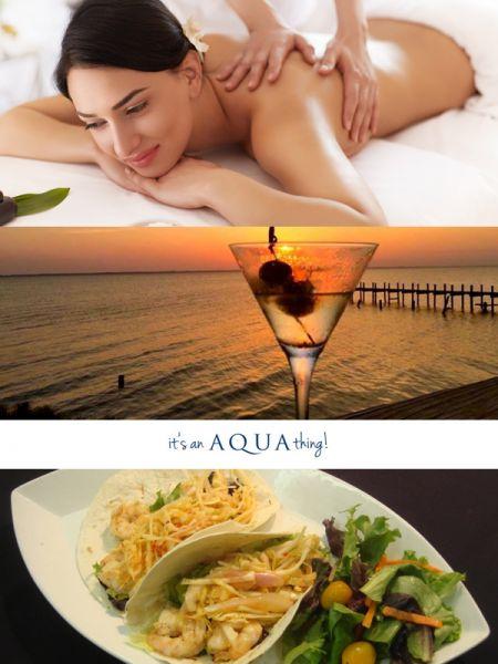 Taste of the Beach, Aqua's Massage, Cocktail & Cuisine