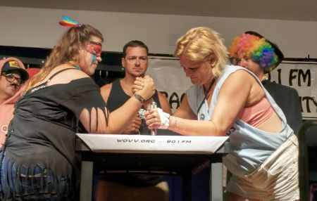 Ocracoke Village, Women's Arm Wrestling Tournament