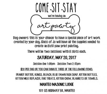 OBX Events, Come - Sit - Stay We're Having an Art Pawty