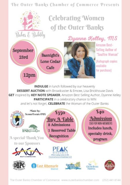Chamber of Commerce, Babes & Bubbly Celebrating Women of the Outer Banks