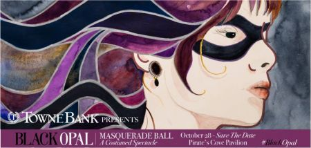 Dare County Arts Council, Black Opal Masquerade Ball