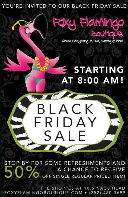 Foxy Flamingo Boutique, BLACK FRIDAY SALE