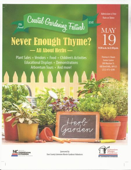 Dare Master Gardener Association, Coastal Gardening Festival