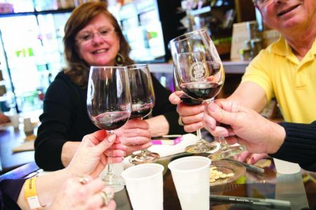 Taste of the Beach, Sweets & Swirls: Wine Cocktails & Desserts at Chip's Wine & Beer