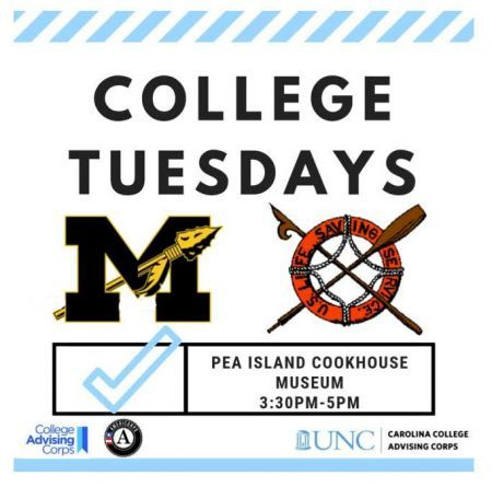 Town of Manteo, College Tuesdays