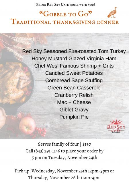 Red Sky Cafe, Gobble To-Go