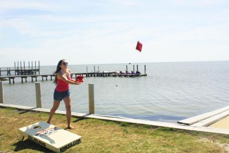 Waves Village Watersports Resort, Cornhole Tourney Wednesdays
