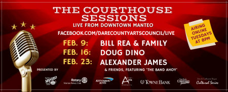 Dare County Arts Council, *VIRTUAL* Courthouse Sessions