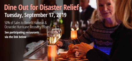Outer Banks Restaurant Week, Dine Out Disaster Relief for Hurricane Dorian