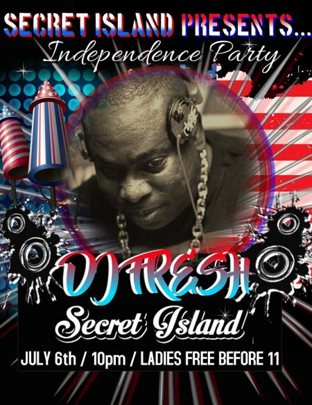 Secret Island Tavern Outer Banks, Independence Party w/ DJ Fresh