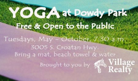 OBX Events, Yoga at Dowdy Park