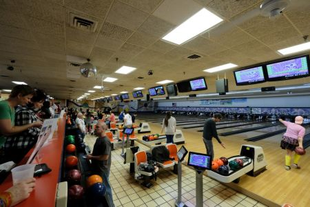 OBX Bowling Center, Nags Head Outer Banks, Valentine's Day Bowling