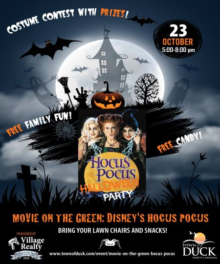 Duck Town Park, Hocus Pocus Halloween Party