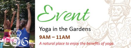 Elizabethan Gardens, YOGA IN THE GARDENS
