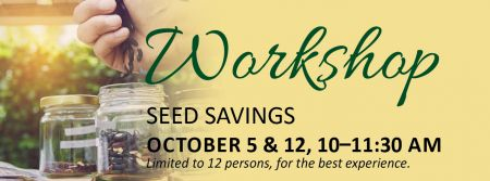 Elizabethan Gardens, Seed Savings Workshop