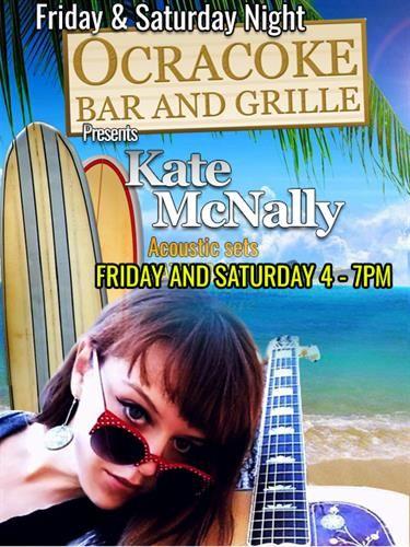 Ocracoke Bar & Grille, Kate McNally