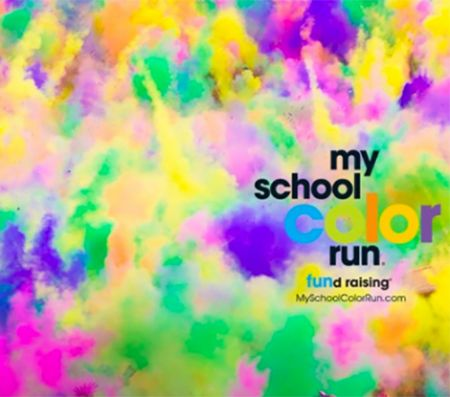 First Flight Middle School , Mayday, Mayday, Middle School Mayhem Color Run and Spring Festival