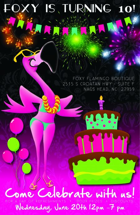 Foxy Flamingo Boutique, Foxy's Birthday Bash