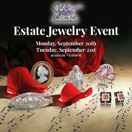 Jewelry By Gail, Estate Jewelry Event