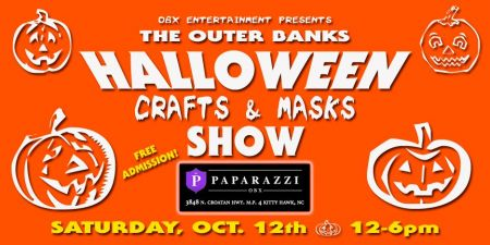 Paparazzi OBX Concert & Event Venue, Halloween Crafts & Masks Show