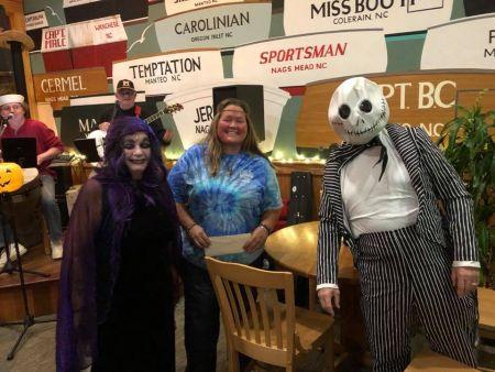 Basnight's Lone Cedar Outer Banks Seafood Restaurant, Halloween Bash & Costume Contest