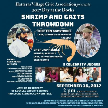 Hatteras Village, Shrimp and Grits Throwdown