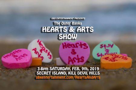 Secret Island Restaurant & Entertainment Outer Banks, Hearts & Arts Show
