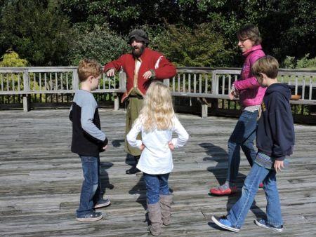 Roanoke Island Festival Park, Home School Day 2017