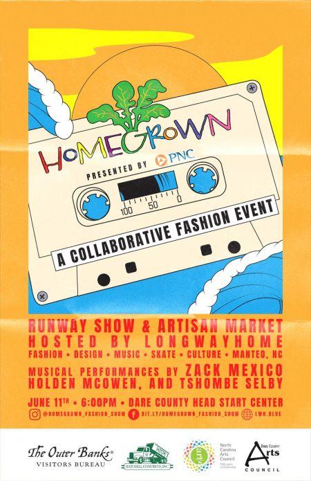 Long Way Home, Homegrown: A Collaborative Fashion Festival