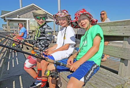 Jennette's Pier, Fritz Boyden Memorial Youth Fishing Tournament