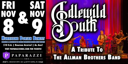 Paparazzi OBX Bar & Live Concert Venue, Idlewild South: Allman Brothers Tribute