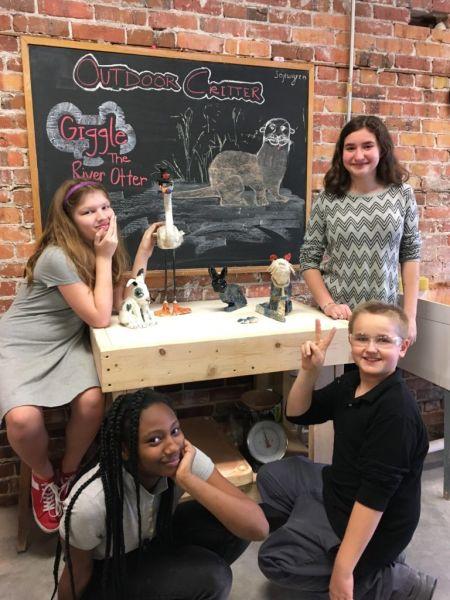 Pocosin Arts School of Fine Craft, Summer Camp: Critters in Clay