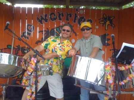 Gaffer's Restaurant on Ocracoke Island, Island Time Band
