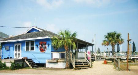 Jolly Roger Pub & Marina Ocracoke, Dave Pollard