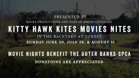Outer Banks Brewing Station, Movie Nights with Kitty Hawk Kites