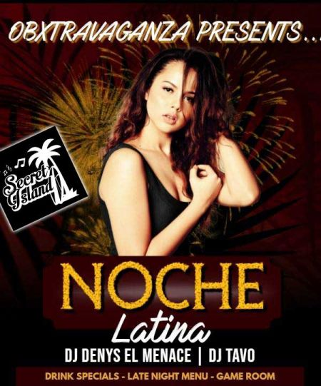 Secret Island Tavern Outer Banks, Noche Latina! Featuring DJ Gustavo